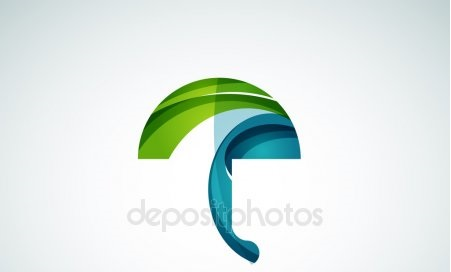 depositphotos 126174464 stock illustration vector umbrella logo